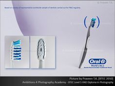 Oral B tooth brush by Praveen T.K.