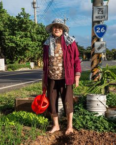 Look out for our March issue, in shops next week! #NGTUK photographer @duncanlongden.photography toured #Taiwan on a scooter and features in our In Pictures piece this issue. Here a lady from Pingtung tends her vegetable patch near the side of the road. Pingtung is as far away from Taipei life as you can get - the people are very laid back, friendly, and welcoming. #travelphotography #travelgram #instatravel