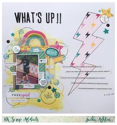 UK Scrap Addicts: What's Up /Journalling / Jackie Ashton