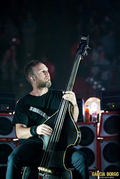 Jeff Ament | Pearl Jam | San Diego 2013 by sylviaborgo, via Flickr
