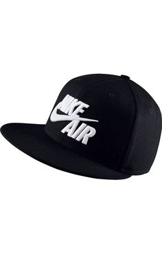 8962ccb10dc Nike Sportswear Air True Snapback Hat Black New NSW  Nike