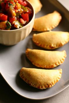 Spicy pork empanadas - just don't use PORK!!! :)