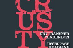 Crusty – Free Grunge Font with extended license!