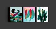 Nature Book Covers on Behance Jungle Illustration, Plant Illustration, Book Cover Design, Book Design, Book Portfolio, Poster Fonts, Posters, Behance, Painted Books