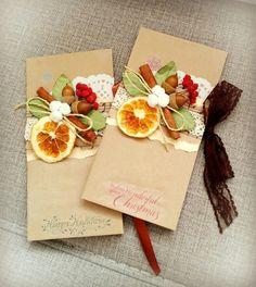 Christmas Gift Tags, Christmas Crafts For Kids, Christmas Wrapping, Christmas Greeting Cards, Christmas Greetings, Handmade Christmas, Holiday Cards, Christmas Holidays, Paint Cards