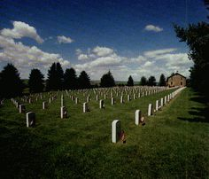 Custer National Cemetery  Custer's Last Stand - Little Bighorn