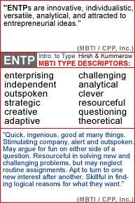Entp compatibility