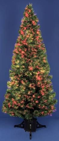 Premier Fibre Optic Crystal Effect Sparkle Christmas Tree