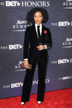 Janelle Monae attends the BET Honors awards show. | essence.com