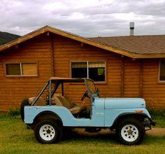 vintage jeep. love.