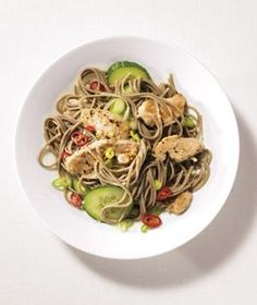 Spicy Pork and Soba Noodles | RealSimple.com