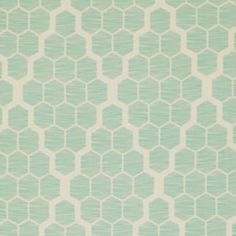 "Bungalow SATEEN - Hive in Mint - SAJD024.MINTX - 54"" wide - 1/2 Yard"