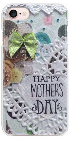 Casetify iPhone 7 Snap Case - mother day green by Kikka and Tikka