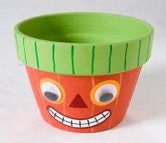 Halloween diy pot