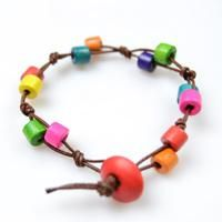 This tutorial is aimed at how to make wood bead bracelet, follow me to diy a wooden beads bracelet now.