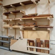 Lumber Rack Woodworking Plan by The Wood Whisperer