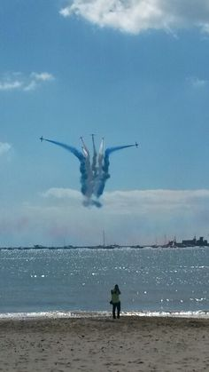 memorial day airshow from jones beach ny