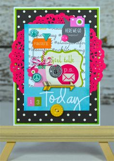 13 Today *Simple Stories DIY Boutique* - Scrapbook.com - Made with Simple Stories DIY collection.