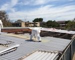 Things one should remember before starting with asbestos removal as well as tribune highlights also tribune highlights as well as tribune highlights. Vinyl Floor Covering, Roof Covering, Vinyl Flooring, Cladding, How To Remove, Fencing, Pipes, Exterior, Sydney