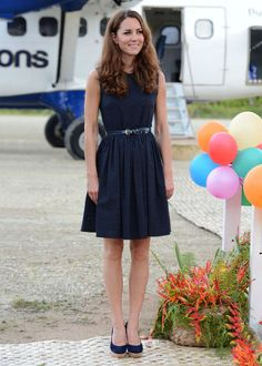 Kate Middleton: Simple, classy, and chic.