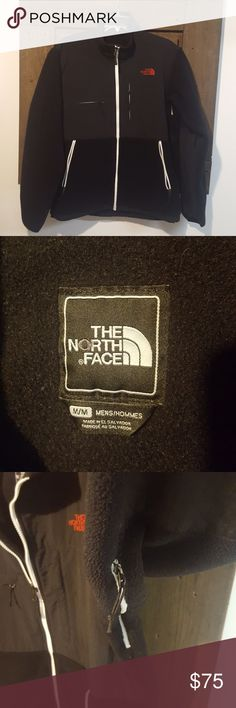 Men's North Face Denali Fleece Jacket Black North Face fleece jacket in EUC. Made from recycled polyester amd nylon. Four zip up pockets. Two underarm ventilation zippers. The North Face Jackets & Coats Performance Jackets