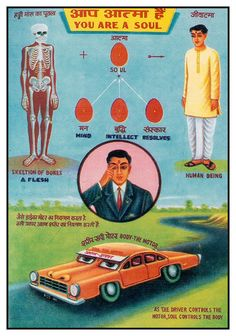 As The Driver Controls The Motor, Soul Controls The Body......hope this what my motor looks like--orange face car :)