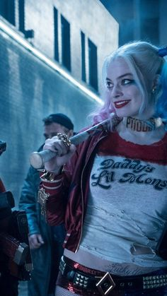 Harley Quinn Android Wallpaper with resolution pixel. You can make this wallpaper for your Android backgrounds, Tablet, Smartphones Screensavers and Mobile Phone Lock Screen Harley Quinn Tattoo, Harley Quinn Drawing, Joker Und Harley Quinn, Margot Robbie Harley Quinn, Harley Quinn Cosplay, Joker Cosplay, Harey Quinn, Pinturas Disney, Dc Comics