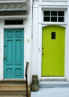 I\u0027d love to paint my front door teal. if we ever own a house. & These are basically the colors my room used to be painted.... it\u0027s ...