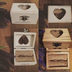 A personal favourite from my Etsy shop https://www.etsy.com/uk/listing/252524778/personalised-wooden-ring-pillow-ring-box