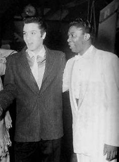 Elvis und der Blues Gitarist und Sänger B.B. King