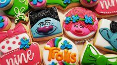 Trolls Cookies by Gimme Sugah