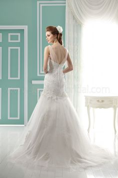 F141055 / Wedding Dresses / Jasmine Collection / Available Colours : Ivory, White (back)