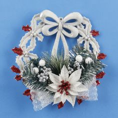 White Christmas Garland Wreath Home Door Window Pendant & Drop Ornaments Christmas Decoration Xmas Tree Hanging Decor Natal 2016 #clothing,#shoes,#jewelry,#women,#men,#hats,#watches,#belts,#fashion,#style