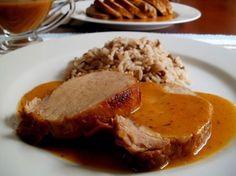 Lomo de cerdo a la naranja   Cocina