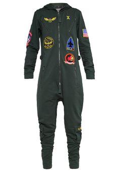 Onepiece AVIATOR Jumpsuit jungle green Bekleidung bei Zalando.de | Material Oberstoff: 100% Baumwolle | Bekleidung jetzt versandkostenfrei bei Zalando.de bestellen!