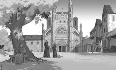 Eglise abbatiale Saint-Martin.
