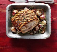 Italian-style roast pork