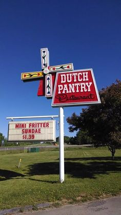 Dutch Pantry Restaurant ~ Dubois, PA : Twilight Zone experience - Half expected it to be gone by the next morning...perfectly square meatloaf