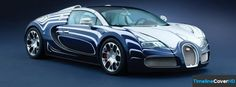 Bugatti Veyron Car Timeline Cover 850x315 Facebook Covers - Timeline Cover HD