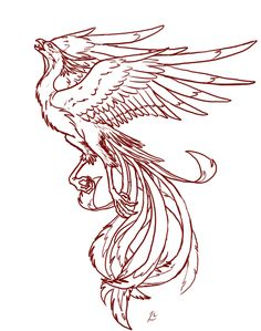 Phoenix Tattoo-LIMITED USE by Deathcomes4u.deviantart.com