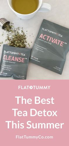 The Best tes detox this summer! Detox Drinks, Healthy Drinks, Best Detox, Detox Plan, Fat Burning Drinks, Body Cleanse, Best Tea, Flat Tummy, Flat Belly