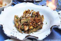Carciofi Croccanti Crispy Baby Artichoke Hearts With Parmigiano And Parsley at Palma