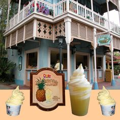 The Dole Whip. You can only get it in three places in the world: the Dole plantation in Hawaii, Disneyland, and the Magic Kingdom in Disney World. The single greatest thing I have ever eaten in my life.