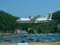 Olympic airways flight to Zakynthos island Atr 42, Jet Plane, Olympics, Greece, Aviation, Aircraft, Europe, Island, Airplanes
