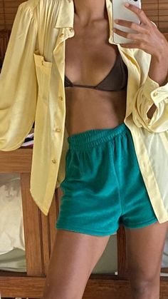 Summer Girls, Summer Beach, Mode Outfits, Fashion Outfits, Fashion Hair, Fashion Trends, New Mode, Mein Style, Fashion Clothes