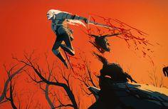 ведьмак,Трисс Меригольд,art,арт,красивые картинки