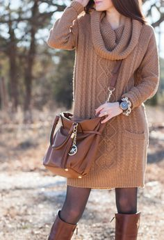 Love this Look in our Bundle Up Sweater Dress!! Buy now at shoppetal.com