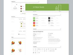 UI Style Guide by Alex Gilev