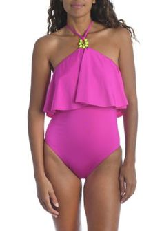 Plus Swimwear, Swimsuits, High Neck One Piece, Trina Turk, One Piece Swimsuit, Tankini, Bathing Suits, Latest Trends, Menswear