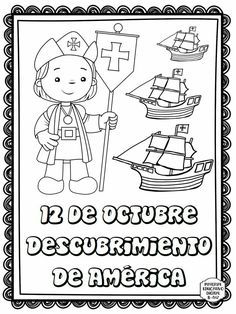 Discover recipes, home ideas, style inspiration and other ideas to try. Activities For Girls, Toddler Activities, Elementary Spanish, Columbus Day, Bilingual Education, Step Kids, History Class, Day Book, Christopher Columbus